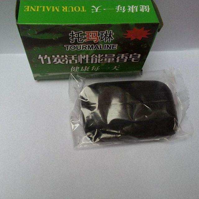 Hot Natural de Carbón de Bambú Jabón Jabón Hecho A Mano Negro Eliminar Espinillas antiaging Cara de Lavado, Baño, Removedor de Maquillaje