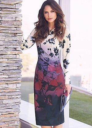 Shadow Rose Wrap Dress #kaleidoscope #summer #fashion