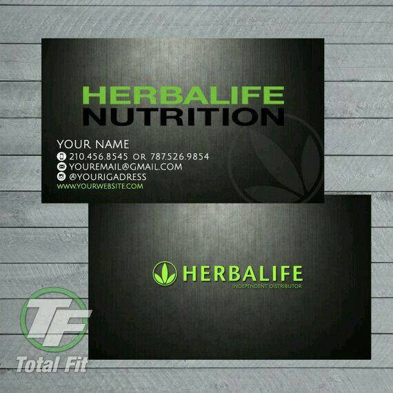 Favorit 12 Best Herbalife Business Cards Images On Pinterest