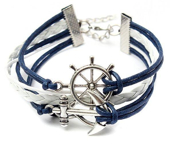 Be special: Multilayer Anchor Rudder Infinite Symbol Handmade ...
