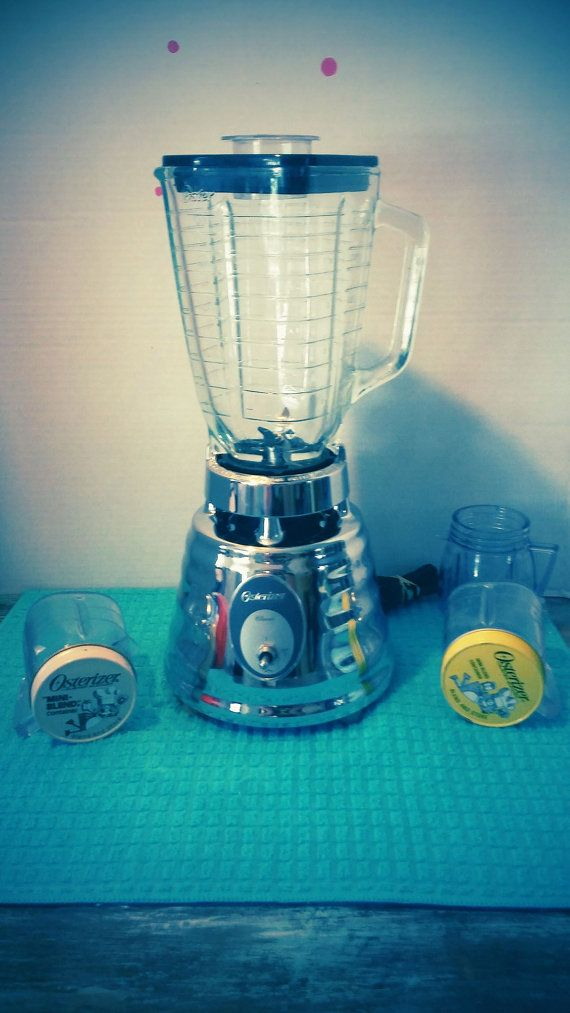 Check out this item in my Etsy shop https://www.etsy.com/listing/295342283/vintage-beehive-osterizer-blender-set
