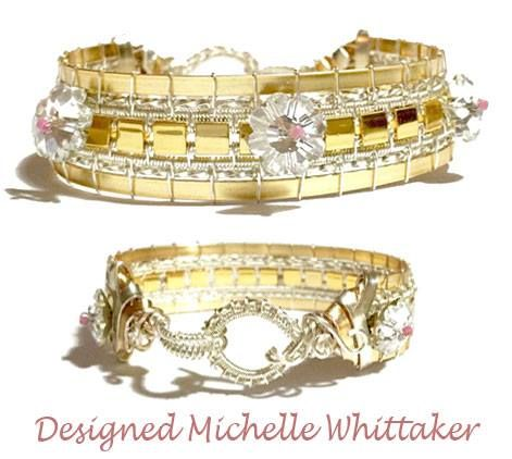 Regal Gold Woven Bracelet