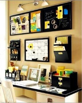 Encuentra tu forma de organizarte.