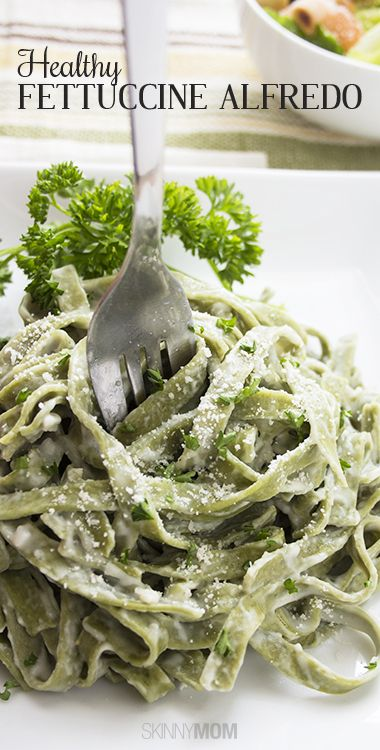 Needing your pasta fix?  Check out how to make fettuccine alfredo healthier for your entire family.