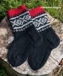 mariusmønster sokker