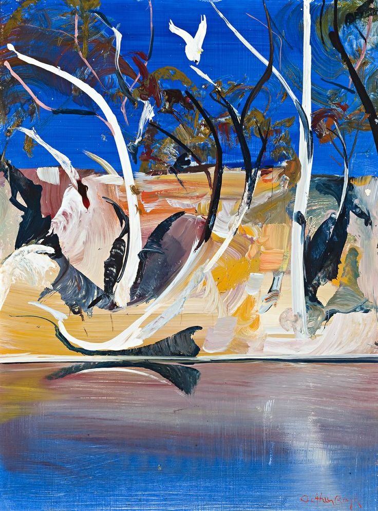 Shoalhaven Painting No. 9 by Arthur Boyd
