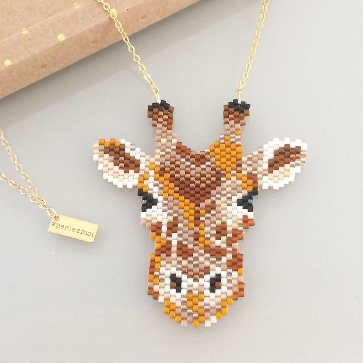 Girafe perles  * www.la-petite-epicerie.fr * Tutos et fournitures de DIY