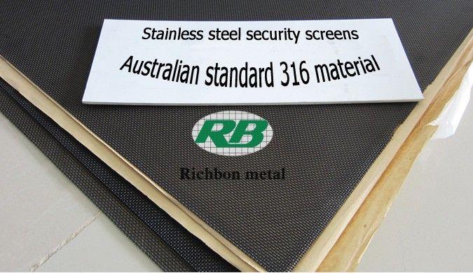 Australian standard stainless steel security screens