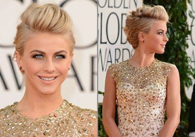 Julianne Hough con falsa cresta