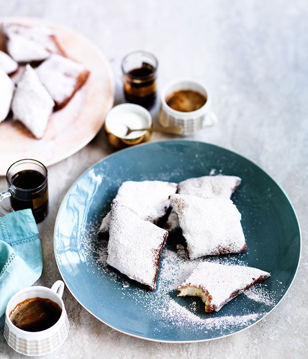 Ummm- Yes! If you are going to indulge, go for the best. Australian Gourmet Traveller recipe for New Orleans-style beignets with anise sugar.