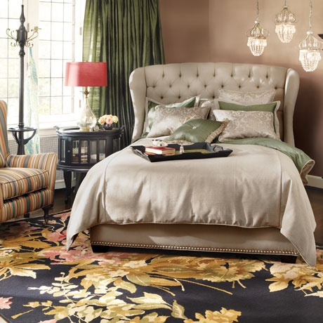 The Barrister Bed With Rio Chair Louise And Juliana Tables Beckett Bookcase Haven Bedding More Arhaus Exclusive Designs