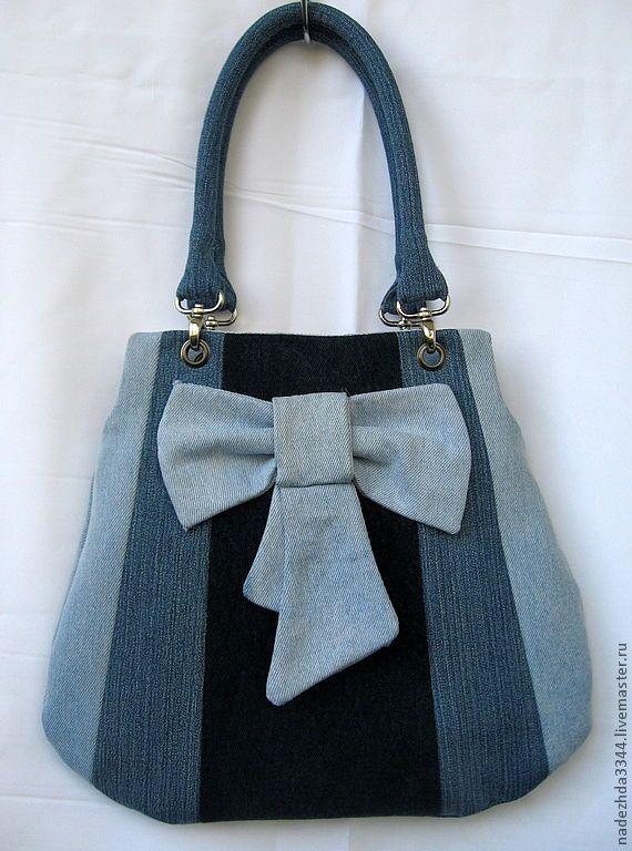 Denim bag - photo only - for inspiration