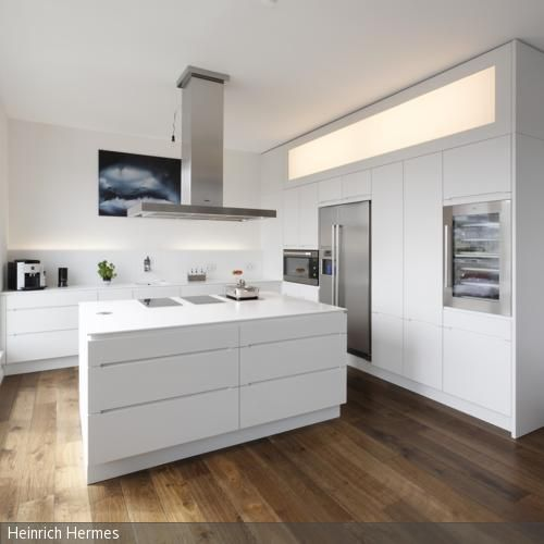 70 best kitchen images on Pinterest Contemporary unit kitchens