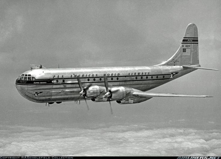 Boeing 377-10-26 Stratocruiser aircraft picture
