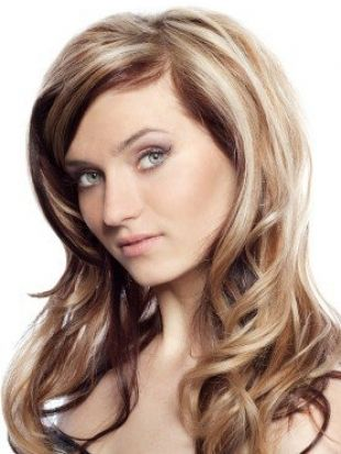 blonde hair with light and dark steaks | Blonde Hair with Brown Lowlights