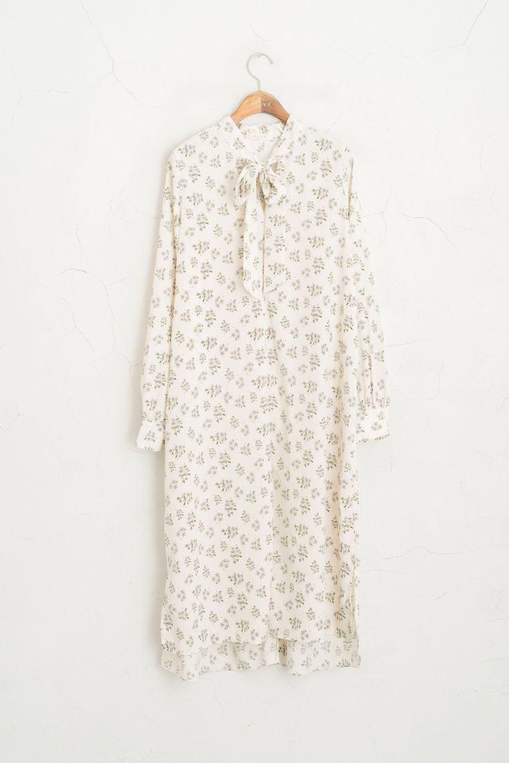 Olive - Ribbon Front Long Floral Dress, Ivory, £69.00 (http://www.oliveclothing.com/p-oliveunique-20160310-073-ivory-ribbon-front-long-floral-dress-ivory)