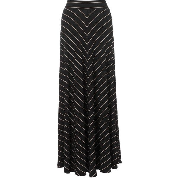 Monsoon Selina Maxi Skirt ($39) ❤ liked on Polyvore featuring skirts, maxi skirts, bottoms, black, faldas, long jersey maxi skirt, chevron maxi skirt, rayon maxi skirt, jersey maxi skirt and rayon skirt