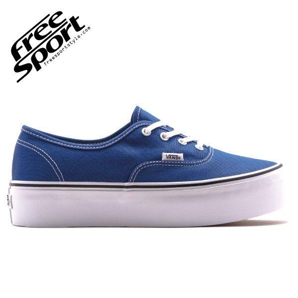 Vans Authentic Platform Blu Navy YPPSAM #vans #blu #navy #platform #napoli #sneakers #vansplatform http://freesportstyle.com/vans/649-vans-authentic-platform-blu-navy-yppsam.html