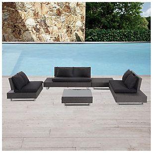 Home & Garden Living Ratán PE 5 piezas