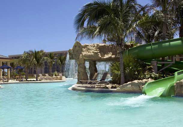 Lagoon Pool at the Palm Beach Marriott Singer Island Beach Resort & Spa