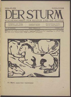 The Best Images About Der Sturm On Pinterest