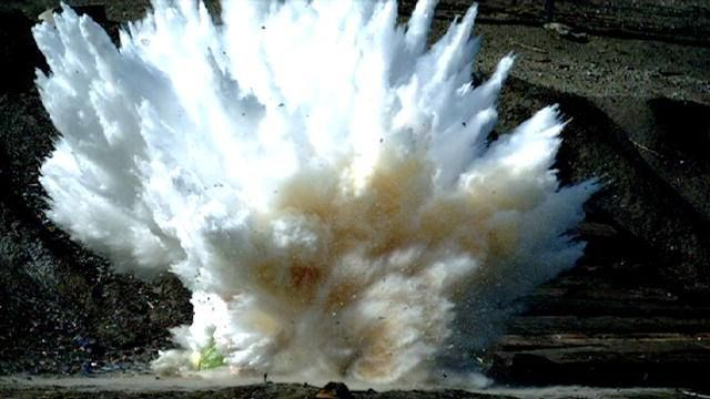 Did you know binary explosives are pre-packaged products consisting of two separate components, usually an oxidizer like ammonium nitrate and a fuel such as aluminum or another metal, that's where the explosion comes from!  #Winnipeg #ExplodingTargets #Science #Explosions
