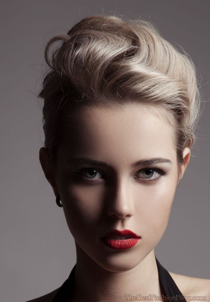 undercut haircut style best 25 1950s updo ideas on 50s hairstyles 6271