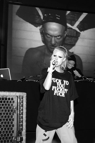DIE ANTWOORD AT THE ALEXANDER WANG'S PARTY