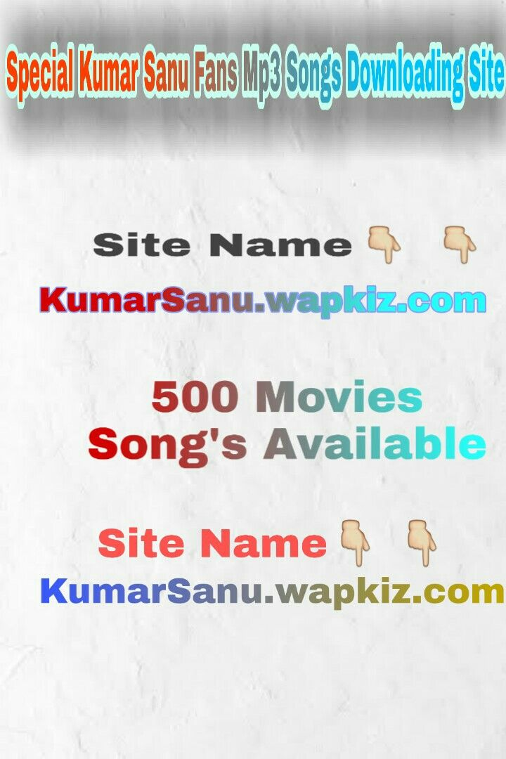 Pin On Kumar Sanu All Songs Mp3 Download