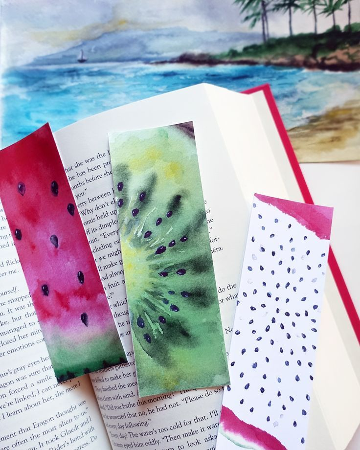 Sarcastic Watercolor Bookmark Set 4 Printable Snarky Bookmarks