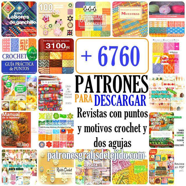 revistas en pdf para descargar con cientos de patrones para tejer