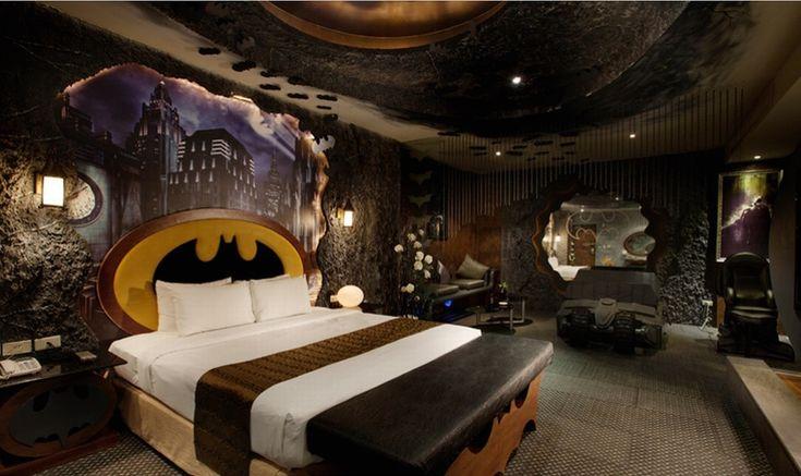 Una habitación 100% Batman