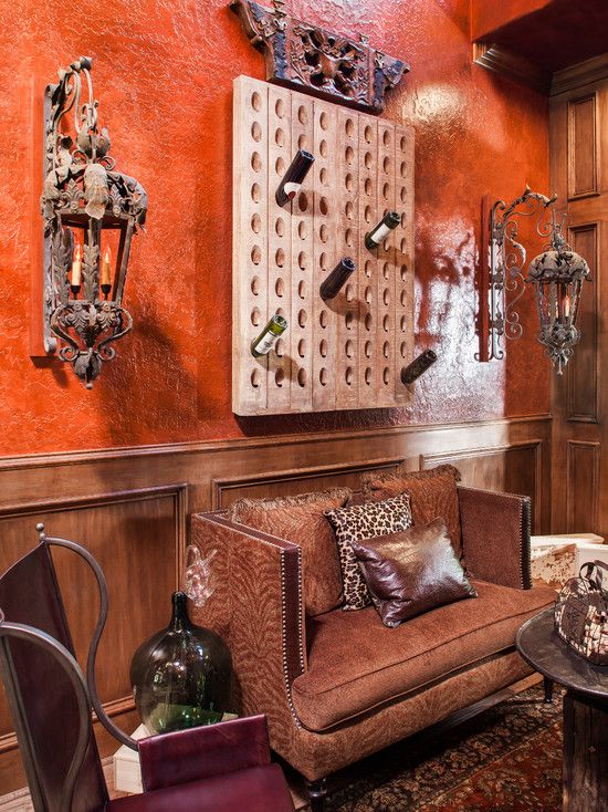 Wonderful Eclectic Interior Design Home Beautiful Family Room Chic Wine Cellar