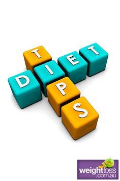 Diet Tips. #DietTips #WeightlossTips weightloss.com.au