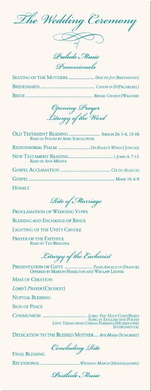 wedding program examples | Calla Lily Wedding Program Examples-Wedding Program Wording-Wedding ...