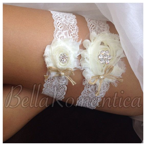 Hey, I found this really awesome Etsy listing at https://www.etsy.com/listing/119234019/rustic-wedding-garter-ivory-wedding