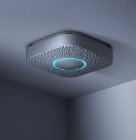 This smoke detector is truly smart.