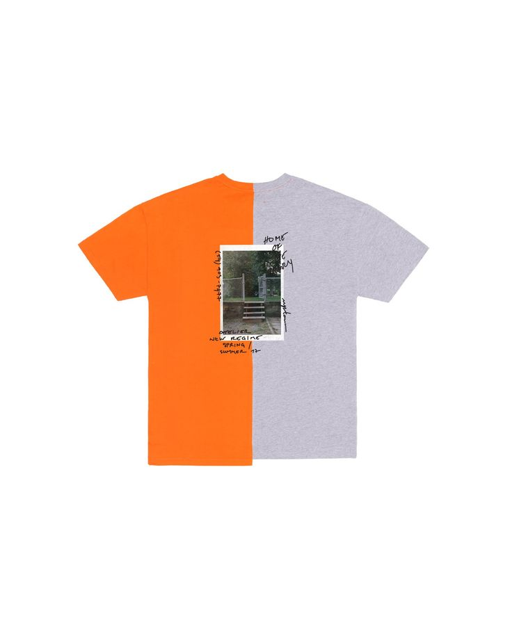 """Home Of The Brave T-Shirt / This two-tone contrast t-shirt features """"Home of the Brave"""" artwork printed on back. #fw17"""