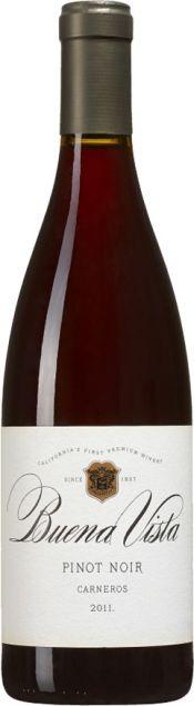 Buena Vista, Pinot Noir, Carneros, 2011