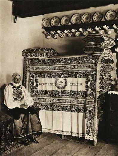 Ghinda,-odaie-taraneasca - case traditionale romanesti