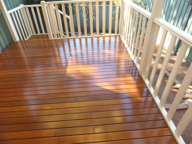 Intergrain Ultra Deck brings out the best of a Spotted Gum Timber Deck