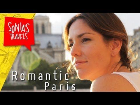 Travel to Paris: romantic French phrases in  romantic Paris