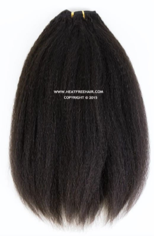 """BLOW OUT"" Wefted Hair – Heat Free Hair"