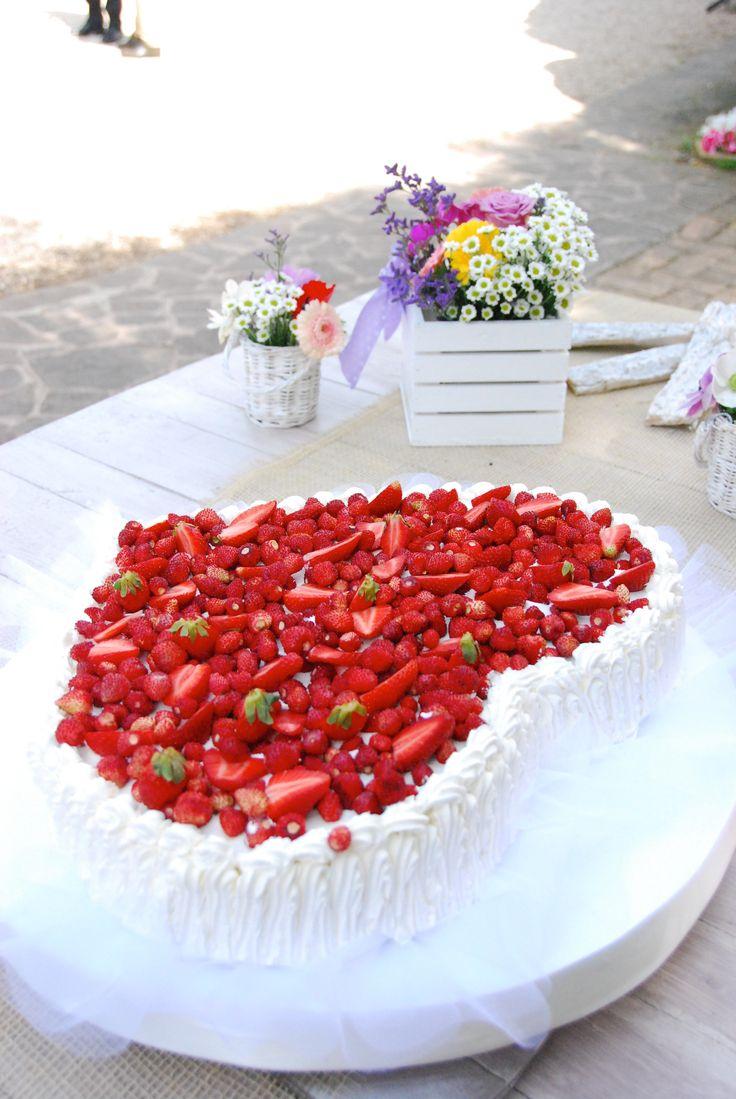 con il cuore e con tanta frutta....