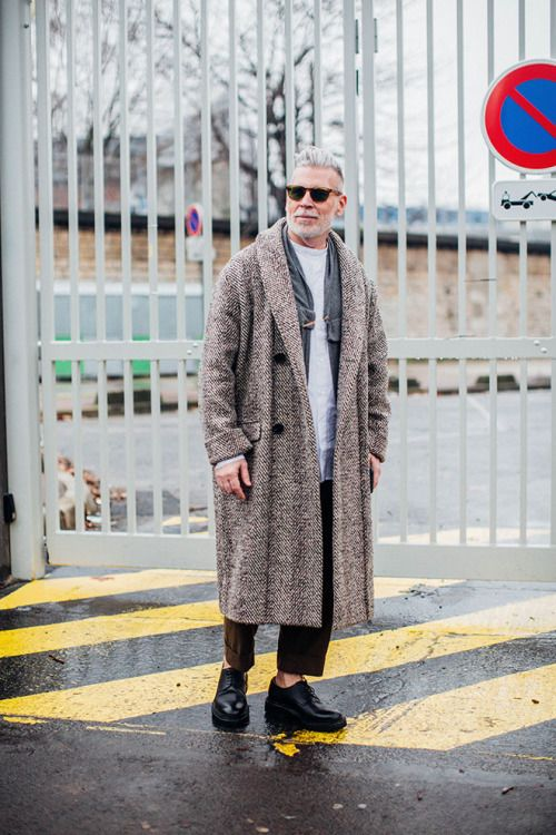 Menswear — Nick Wooster Source: Vogue.fr - Paris Streetstyle ...