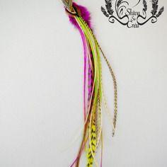 """Boucle unique style boho, """"lakota"""", plumes naturelles et teintées par shiva so créa, flèche indienne"""