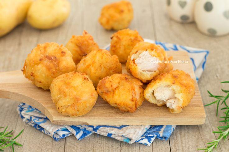 Bocconcini di pollo alle patate