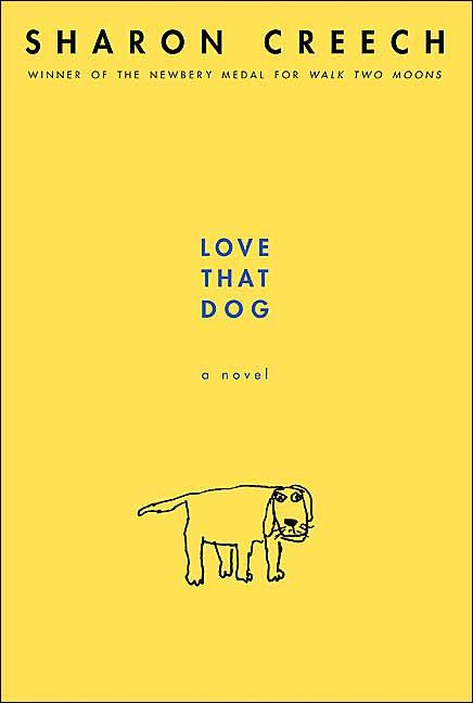 Loved That Lesson: Imitating Poetry lesson using the book Love That Dog