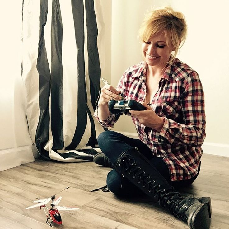 "Kari Byron - Heard my kid say, ""Go ask my mom. She always has tools."" Play date saved because this DIY mom is usually wearing a Skeletool on her boot. Thank you tiny screwdriver. Share your favorite Tool Tale at www.leatherman.com/karibyron"