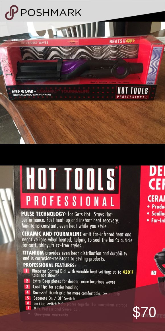 Deep Waver by Hot Tools Deep waver, sorta like crimper but gives you deep beach waves Hot Tools Other